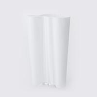 【100-3000円offクーポン】北欧 ガラス おしゃれ 花瓶 / アアルト ベース / finlandia ホワイト 251mm [ 北欧 iittala イッタラ アアルト ベース / ガラス花瓶 花器 フラワーベース ]