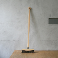 asahineko broom Makoto Koizumi broom [with a dustpan and the set which are stylish a cleaning article]