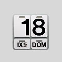 【100-2000円offクーポン】DANESE ダネーゼ/ENZO MARI/万年カレンダー 壁掛け/FORMOSA フォルモサ [万年カレンダー 壁掛け はDANESE ダネーゼ]