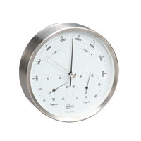 【100-3000円offクーポン】BARIGO バリゴ / 温湿気圧計 ( 壁掛け ) BG350 φ160