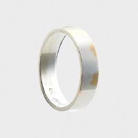 【2/22正午-¥2222/8%offクーポン】トラフ建築設計事務所 gold wedding ring k18 Square 5mm×1mm [ 結婚指輪 マリッジリング ペアリング ]