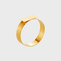 【マラソン期間¥100-2000クーポン】Marc Monzo リング blank ring K18YG