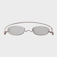 【100円クーポン】paperglass 老眼鏡 アンダーリム ベーシックピンク