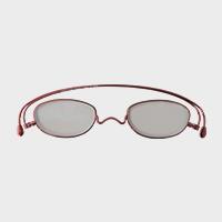 コンパクトな携帯用老眼鏡 paperglass オーバル ベーシックレッド [ おしゃれなメンズ・レディース兼用/男性用・女性用シニアグラス ]