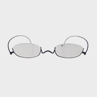 【新品展示品OUTLET/30%off】コンパクトな携帯用老眼鏡 paperglass アンダーリム マットネイビー [ おしゃれなメンズ・レディース兼用/男性用・女性用シニアグラス ]