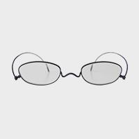 【新品展示品OUTLET/30%off】コンパクトな携帯用老眼鏡 paperglass オーバル マットネイビー +2 [ おしゃれなメンズ・レディース兼用/男性用・女性用シニアグラス ]