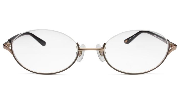 アニエスベー agnis b 50-0029 c.3 ブラウン/ダークブラウン アンダリーム メガネ 眼鏡 新品 送料無料