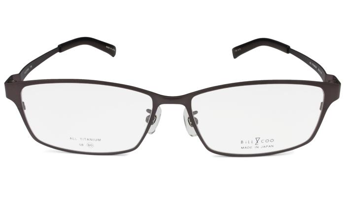 ビルアンドクー BiLL&COO 778 c.3 60サイズ ブラウン 大きいサイズ フレーム メガネ めがね 新品 送料無料