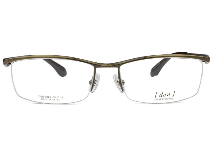 ドゥアン dun dun-2129 br-3 ブラウン メガネ 眼鏡 めがね 新品 送料無料 dun2