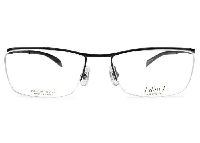 ドゥアン dun dun-2138 bk-4 ブラック/レッド メガネ 眼鏡 めがね 新品 送料無料 dun1
