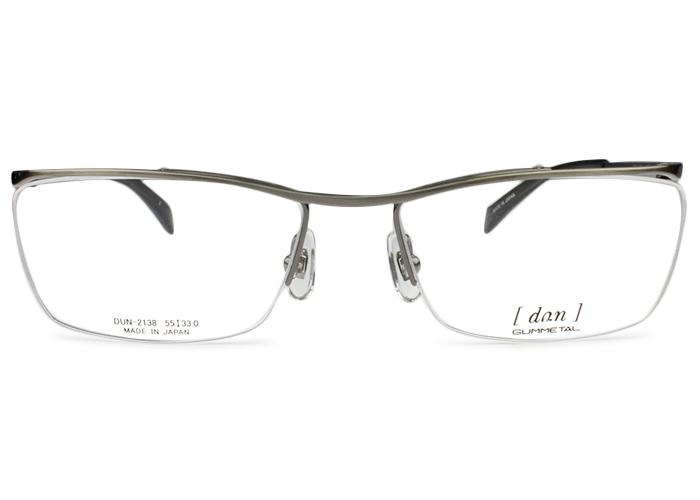 ドゥアン dun dun-2138 gr-5 グレー メガネ 眼鏡 めがね 新品 送料無料 dun1