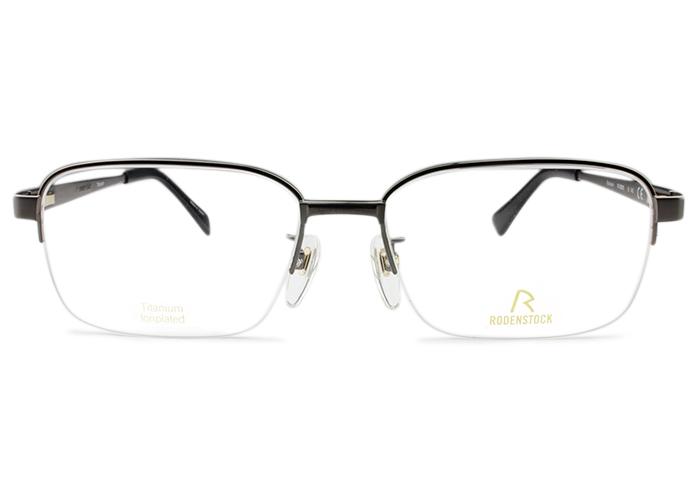 ローデンストックRODENSTOCKR0265 B 55 ガンメタルメガネ 眼鏡 めがね 伊達 新品 送料無料