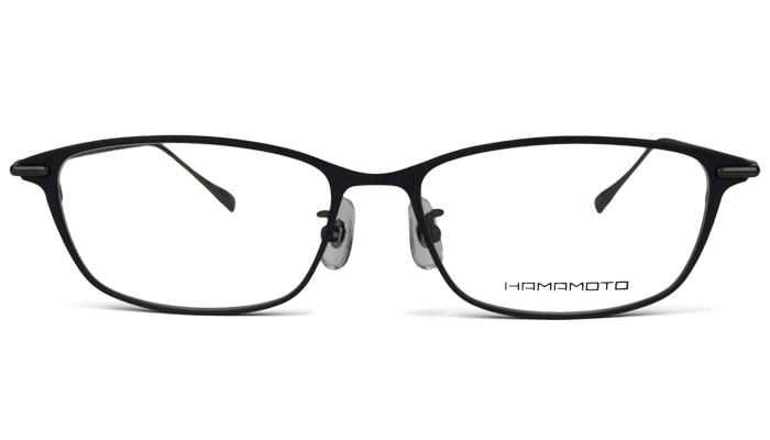 2147d54f5d27 ハマモト HAMAMOTO 老眼鏡 遠近両用 伊達 メガネ 眼鏡 新品 送料無料 ネイビーマット/シャーリンググレー