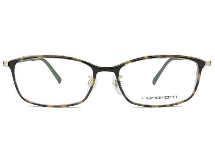 ハマモト HAMAMOTO ht-145 c.3 デミ 伊達 メガネ 眼鏡 新品 送料無料 ht1