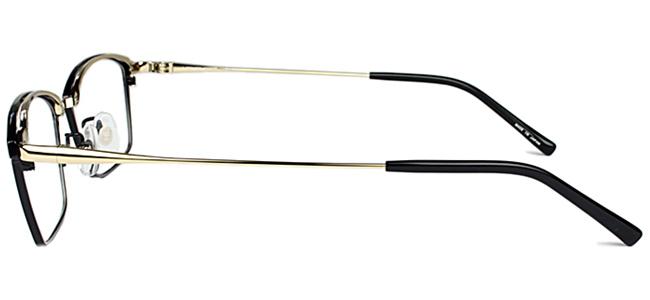ハマモト HAMAMOTOHT 317 c 1 ブラック ゴールド 伊達 メガネ めがね 眼鏡 新品 送料無料 ht4ynwPN0vm8O