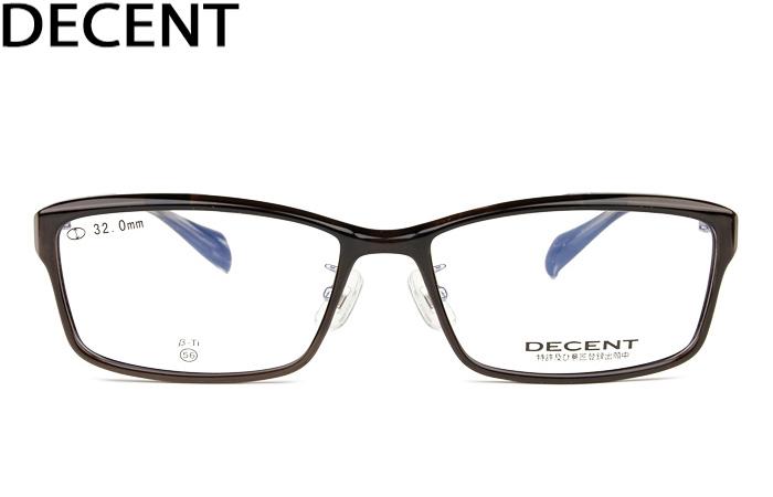 ディセント DECENT decent dc-3462 c.1 クリアグレー 単式 跳ね上げ メガネ 眼鏡 めがね 新品 送料無料