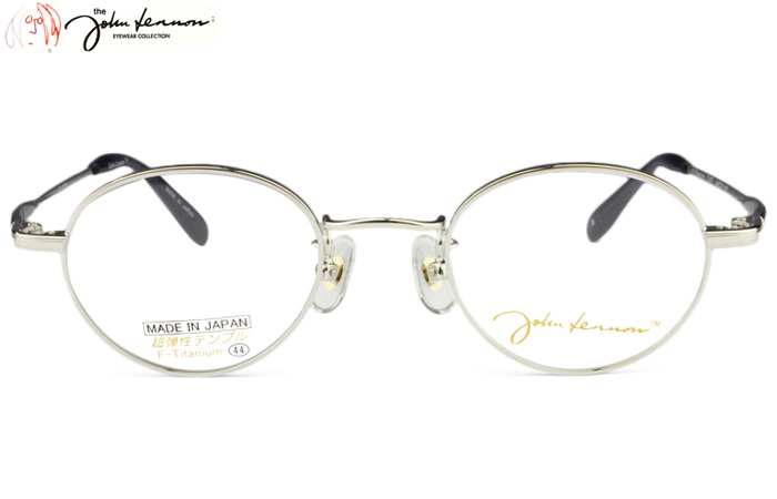 ジョンレノン John Lennon JL-1011 c.3 シルバー 度付き メガネ 眼鏡 めがね 新品 送料無料 jl1