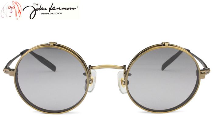 ジョンレノン John Lennon JL-1068 c.3 アンティークゴールド 丸 メガネ クラシック 新品 送料無料