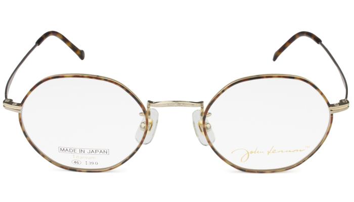 ジョンレノン John Lennon JL-1074 c.1 ゴールド・ブラウンデミ/ゴールド メガネ クラシック 新品 送料無料 jl2