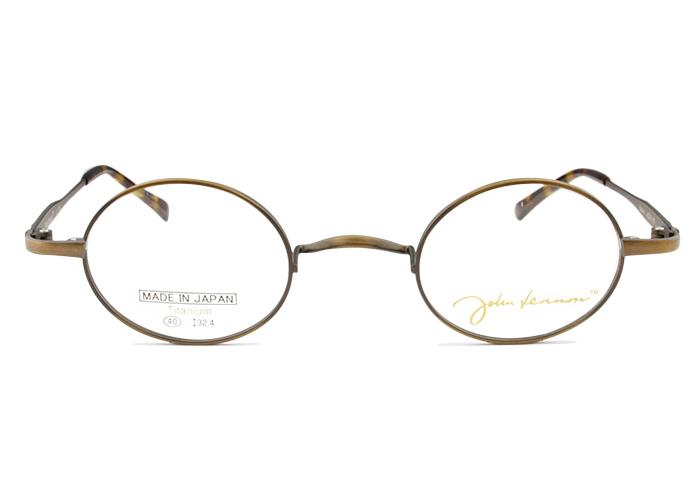 ジョンレノン John LennonJL-1083 c.1 アンティークブラウン一山 メガネ 伊達 クラシカル レトロ眼鏡 メンズ レディース 新品 送料無料 jl2