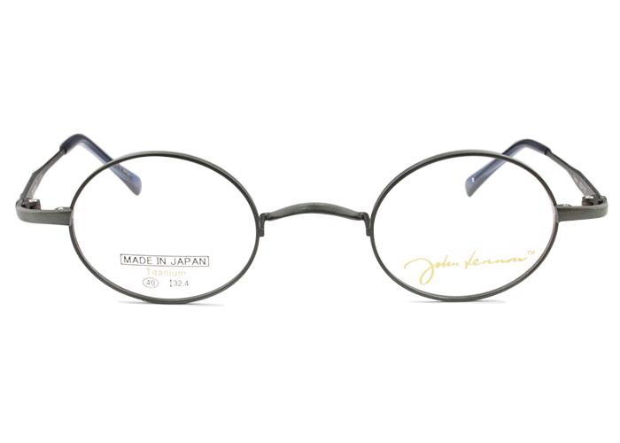 ジョンレノン John Lennon JL-1083 c.3 アンティークグレー 一山 メガネ 伊達 クラシカル レトロ 眼鏡 新品 送料無料