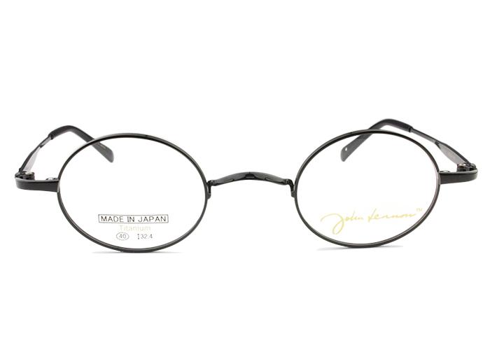 ジョンレノン John Lennon JL-1083 c.4 ブラック 一山 メガネ 伊達 クラシカル レトロ 眼鏡 新品 送料無料