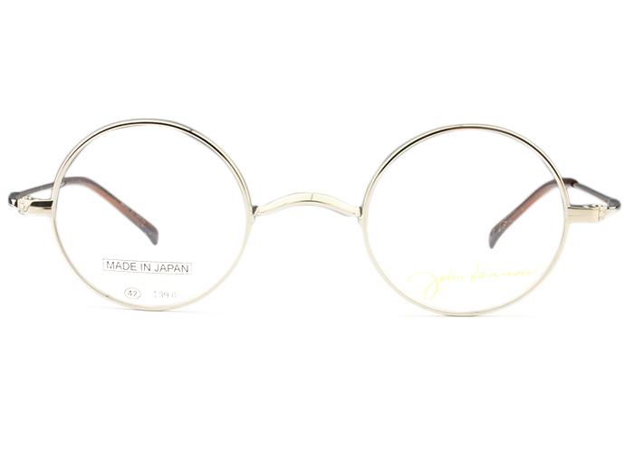 ジョンレノン JOHN LENNONjl-1086 c.1 jl3 GP丸 一山 メガネ めがね 眼鏡伊達 度付き 新品 送料無料