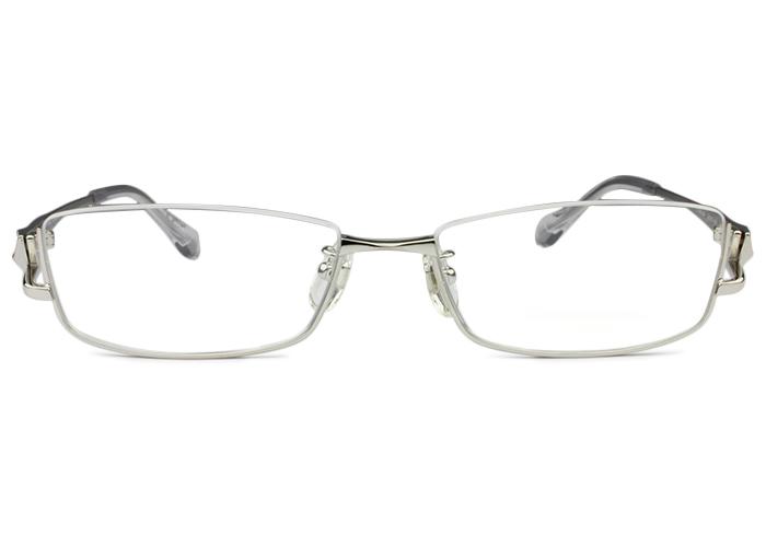 キャサリン・ハムネット KATHARINE HAMNET kh9175 c1 シルバー/シャーリングシルバー メガネ 眼鏡 伊達 新品 鼻パッド 老眼鏡 遠近両用 送料無料 kh1