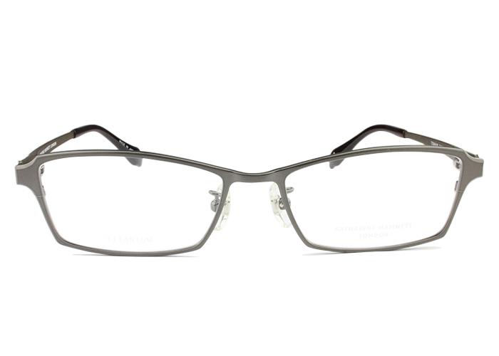 キャサリン・ハムネット KATHARINE HAMNET kh9184 c.2 シャーリンググレー/カーキブラウンマット メガネ 眼鏡 伊達 新品 鼻パッド 老眼鏡 遠近両用 送料無料 kh2