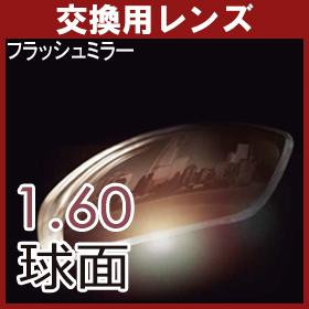 【交換用】 フラッシュ ミラーレンズ 1.6球面レンズ(2枚・一組)