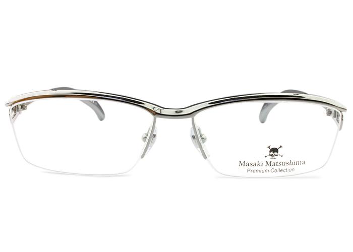 マサキマツシマプレミアム Masaki Matsushima Premiummfp-549 c.1 グレ-(シルバー)メガネ めがね 眼鏡 新品 送料無料