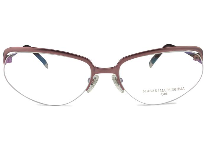 マサキマツシマ Masaki Matsushima mf-1017 c.23a マットワイン メガネ めがね 眼鏡 新品 送料無料 mf10