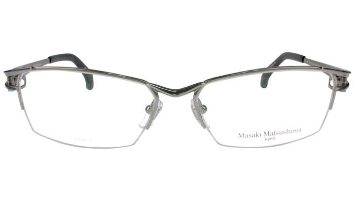 マサキマツシマ フレーム Masaki Matsushima mf-1212 c.2 グレー・ネイビー 眼鏡 メガネ 老眼鏡 遠近両用 新品 送料無料 mf1