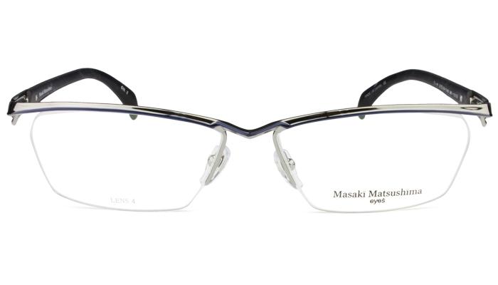 マサキマツシマ フレーム Masaki Matsushima mf-1215 c.2 グレー・ネイビー/グレー・ネイビー・グレーササ 眼鏡 メガネ 老眼鏡 遠近両用 新品 送料無料 mf3
