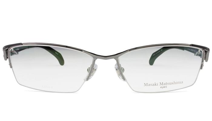 マサキマツシマ Masaki Matsushima mf-1223 c.2 グレー・ブラック 眼鏡 メガネ 老眼鏡 遠近両用 新品 送料無料 mf5