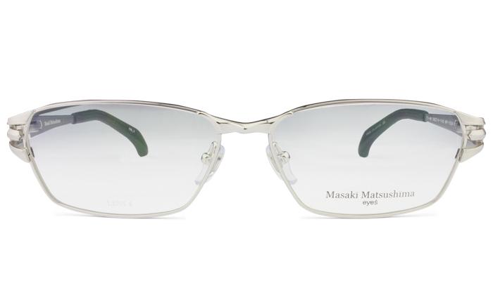 マサキマツシマ Masaki Matsushima mf-1224 c.1 シルバー 眼鏡 メガネ 老眼鏡 遠近両用 新品 送料無料 mf6