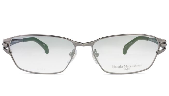 マサキマツシマ Masaki Matsushima mf-1224 c.3 ガンメタル 眼鏡 メガネ 老眼鏡 遠近両用 新品 送料無料 mf6