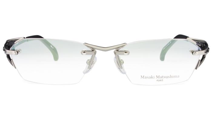 マサキマツシマ Masaki Matsushima mf-1226 c.4 グレー/ブラック・グレー 眼鏡 メガネ 老眼鏡 遠近両用 新品 送料無料 mf7
