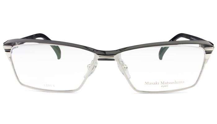 マサキマツシマ Masaki Matsushima mf-1227 c.3 ブラック・シルバー/ブラックデミ 眼鏡 メガネ 老眼鏡 遠近両用 新品 送料無料 mf8