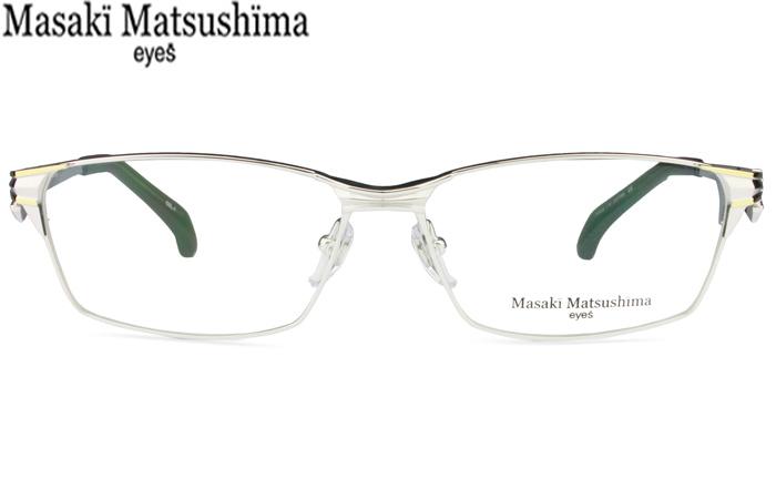 マサキマツシマ Masaki Matsushima mf-1231 c.1 シルバー・ゴールド メガネ めがね 眼鏡 新品 送料無料 mf3