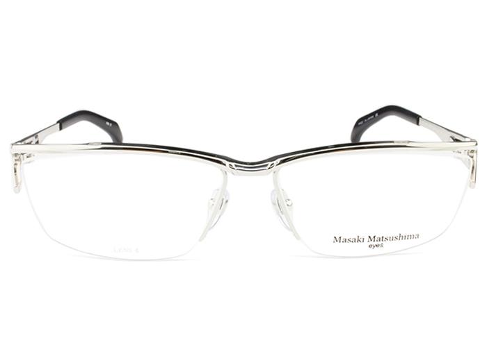 マサキマツシマ Masaki Matsushima mf-1237 c.2 シルバー・ネイビー メガネ めがね 眼鏡 新品 送料無料 mf6