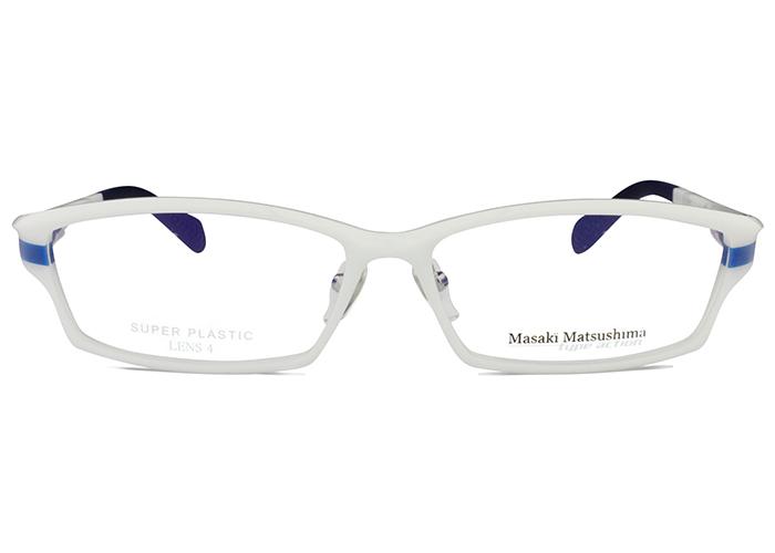 マサキマツシマ Masaki Matsushima mfs-125 c.2 ホワイト/ブルー メガネ めがね 眼鏡 新品 送料無料