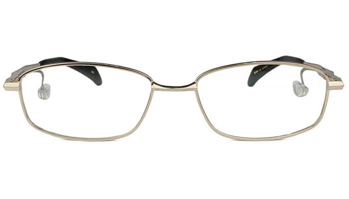 ネオジン NEOJIN nj2315s c.10 ゴールド 鼻パッドなしメガネ サイドパッド メガネ 眼鏡 遠近両用 新品 送料無料 53サイズ