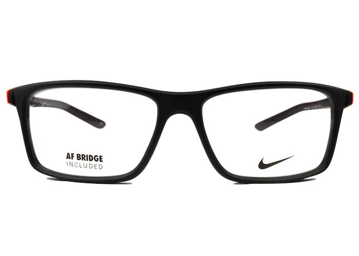ナイキ NIKE nike メガネ 眼鏡 伊達7084uf-004 54サイズ マットブラックALTERNATIVE FIT オルタナティブフィット スポーツ 運動フィット 軽い ずれにくい メンズ レディース 新品 送料無料 nk1