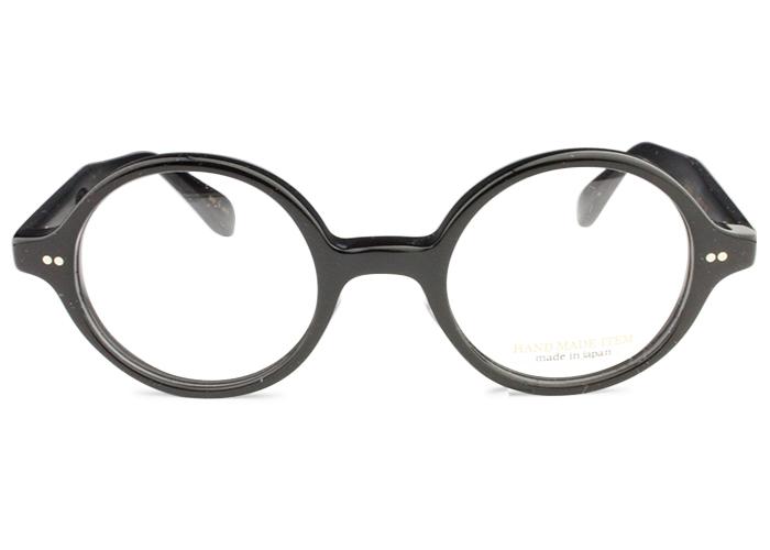 ノヴァ NOVA h-4020 c.1 ブラック 丸 メガネ 眼鏡 伊達 新品 鼻パッド 送料無料 nov1