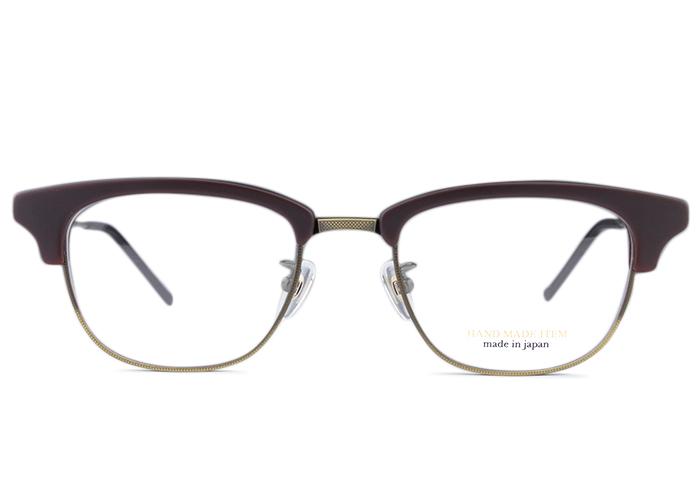 ■ノヴァ NOVA■h-5034 c.8 nv4 マッドブラウン/ゴールド■メガネ めがね 眼鏡■伊達 度付き 新品 送料無料