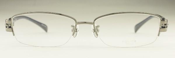 ポリス POLICE 眼鏡 メガネ 新品 送料無料 グレー V8677J 568 po003