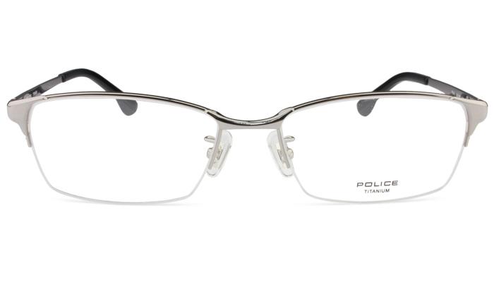 ポリス POLICE VPL941J 0568 グレー 眼鏡 メガネ めがね 新品 送料無料 po1