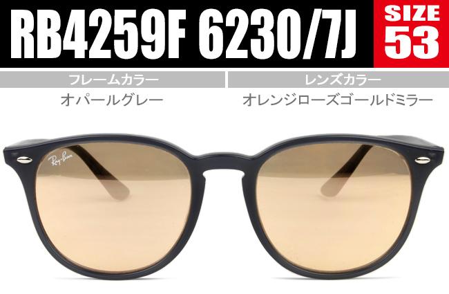 レイバン サングラス 53size Ray-Ban sunglasses HIGHSTREET RB4259F 6230/7J rs221