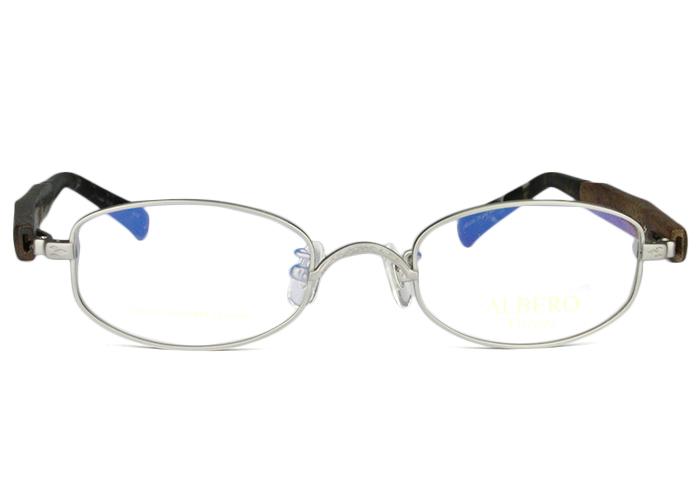 アルベロ ALBERO ab-704 c.asi アンティーシルバー メガネ 眼鏡 新品 伊達 老眼鏡 遠近両用 送料無料